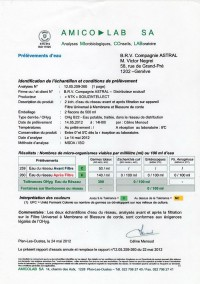 Фильтры испытаны в Швейцарии